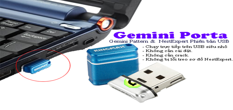 Gemini Porta Version USB 16