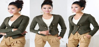 Hướng Dẫn May Áo Jacket Nữ – How To Sew a Jacket
