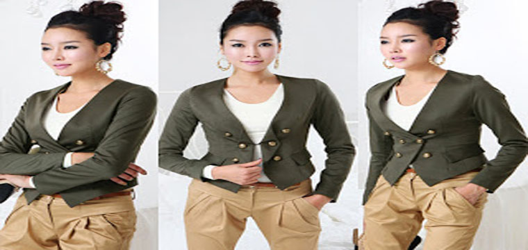 Hướng Dẫn May Áo Jacket Nữ - How To Sew a Jacket 8