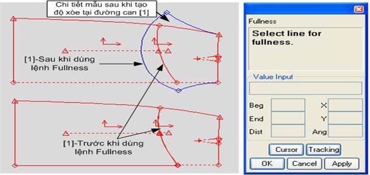 Các Lệnh Tạo Chi Tiết Xếp Ly Cho Chi Tiết Trong Gerber PDS 9