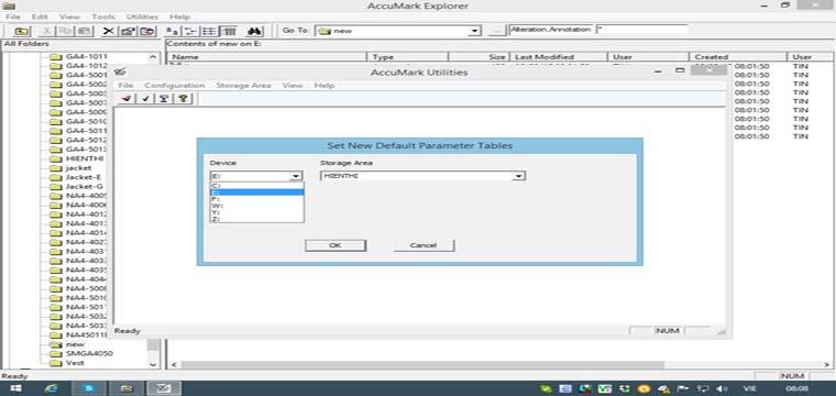 Thay Đổi Mặc Định Tập Tin Parameter Tables Trong Gerber Accumark Explorer 6