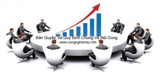 Bản Quyền Và Quy Định Chung Về Nội Dung Tại CongNgheMay.info