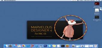 Hướng Dẫn Cài Thiết Kế 3D Marvelous Designer4 Trên Mac OS