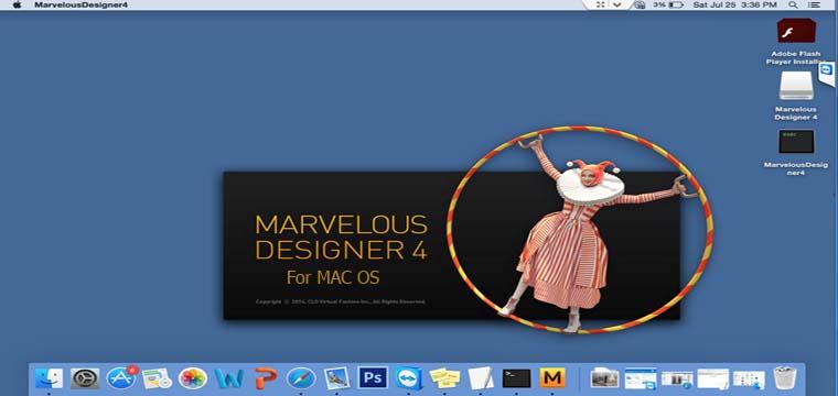Hướng Dẫn Cài Thiết Kế 3D Marvelous Designer4 Trên Mac OS 6