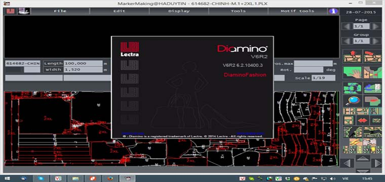 What's New in this Version Lectra Diamino V6R2 ? 2