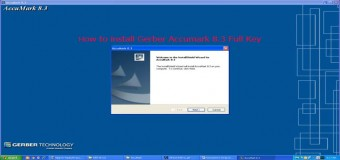 Hướng Dẫn Cài Đặt-Chạy Key Gerber Accumark V8.3
