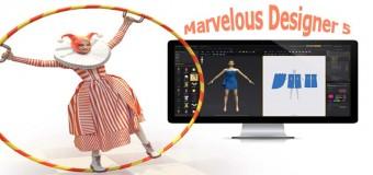 Miễn Phí Thiết Kế Thời Trang 3D Marvelous Designer 5