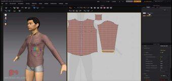 Thiết Kế Áo Sơ Mi Nam Trên Phần Mềm Marvelous Designer 3D