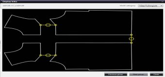 Giác Sơ Đồ Tự Động Links Chi Tiết-Cụm Chi Tiết Trong Lectra Diamino V6R2