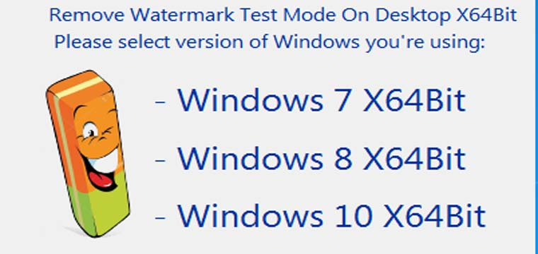 Hướng Dẫn Xóa Bỏ Watermark Test Mode Trên Màn Hình Windows x64Bit 11