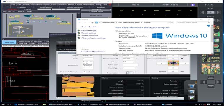 Cài Đặt Lectra Modaris V7R2 2D-3D-Diamino V6R2 Marker-Manager Trên Windows 10x64bit 4