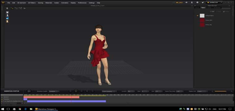 Hướng Dẫn Trình Diễn CatWalk 3D Trên MarvelousDesigner 6 9