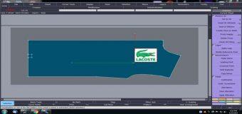 Lectra Modaris V8-Hướng Dẫn Thêm Hình Logo Vào Chi Tiết Rập Thiết Kế