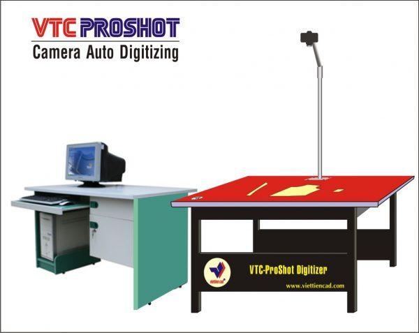 Bàn Nhập Rập Mẫu Tự Động VTC-ProShot 1