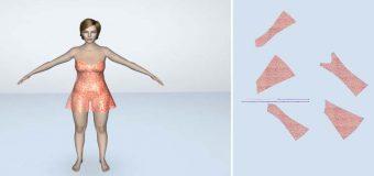 Thiết Kế Thời Trang Lectra Modaris 3D – Đầm Ngủ Quyến Rũ