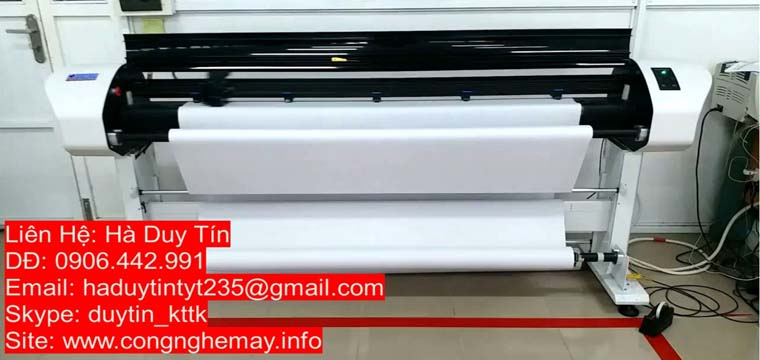 Máy In Sơ Đồ-In Rập Force Jet RT-1800-HP45 Tiết Kiệm, Nhanh, Bền, Đẹp 4