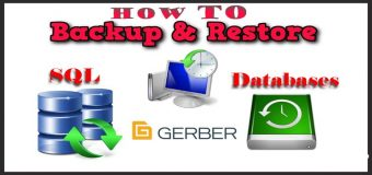 Hướng Dẫn Backup Và Restore Databases Gerber Accumark Trong SQL Server