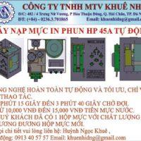 Máy Nạp Mực In Phun HP45 Tự Động