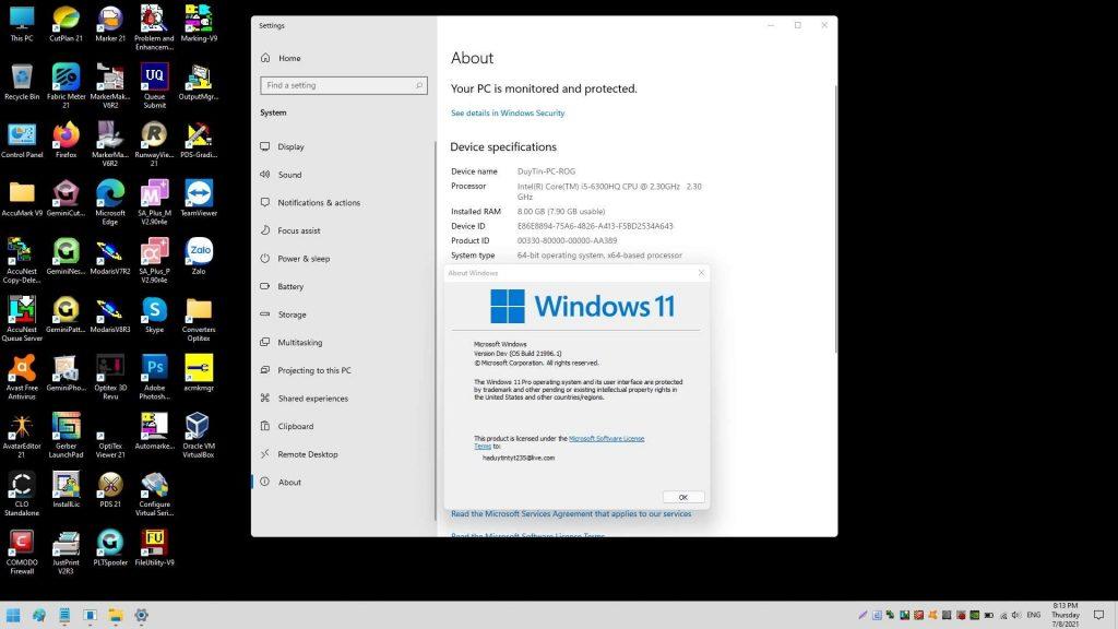 Trải Nghiệm: Cài Phần Mềm Dệt May Trên Windows 11 1