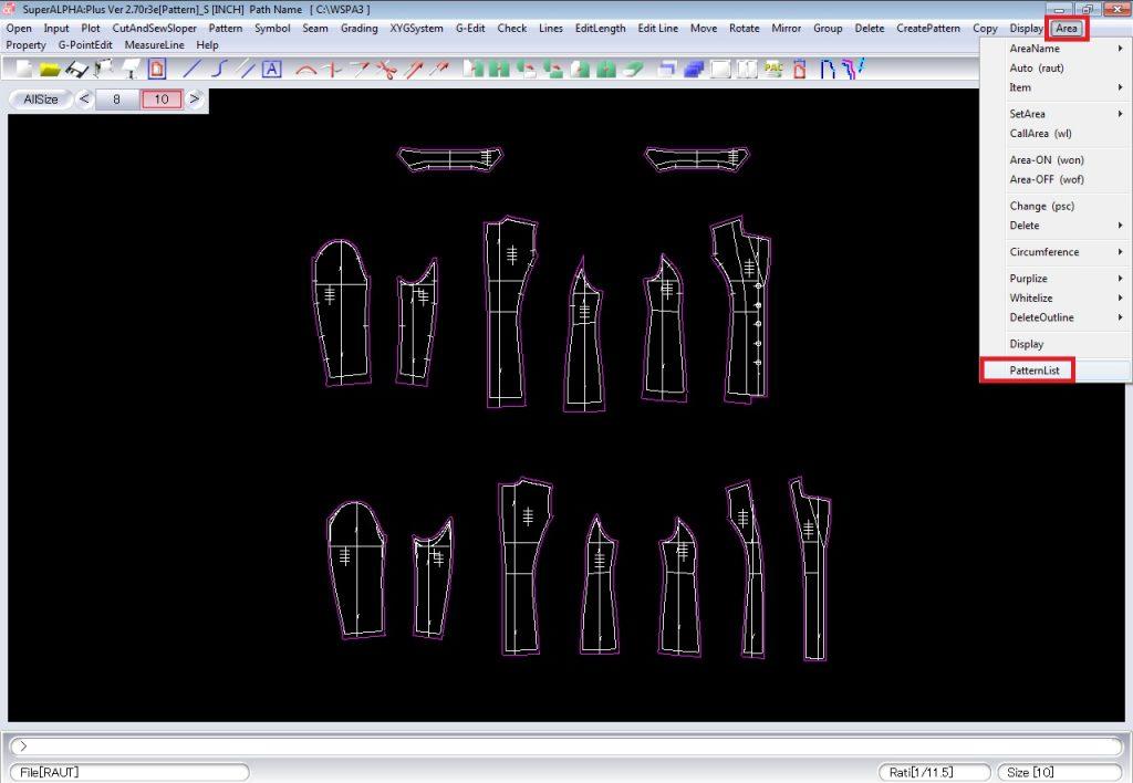Cách Tạo Bảng Report Pattern Trên Yuka SuperALPHA Plus 1