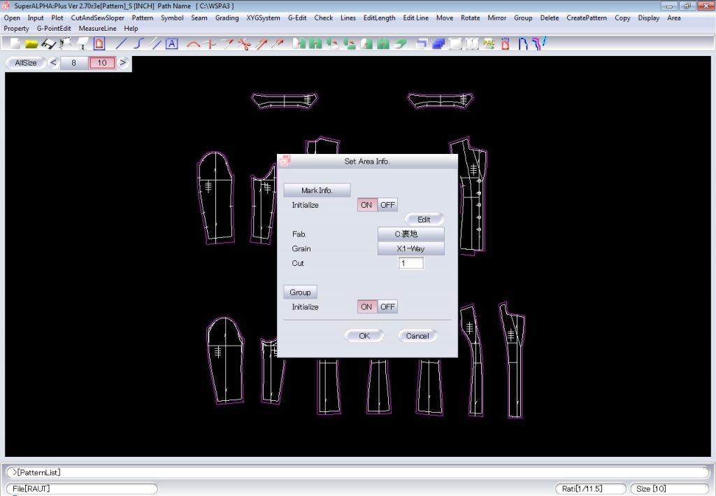 Cách Tạo Bảng Report Pattern Trên Yuka SuperALPHA Plus 3