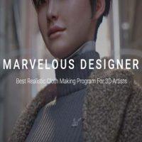 Free Download Fashion Designer 3D: Marvelous Designer 10 Personal 1
