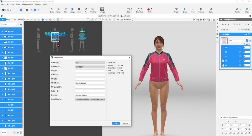Browzwear VStitcher 3D Indie Program